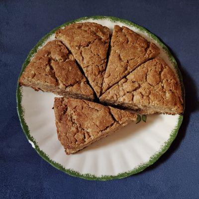 Maple Brown Sugar Cinnamon Scones