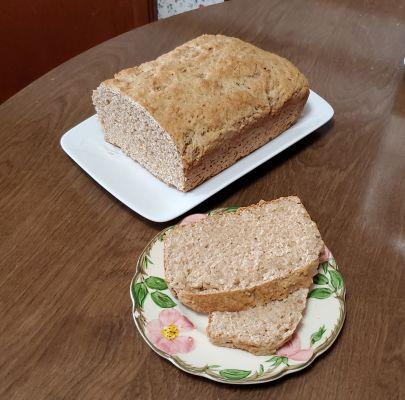 Whole Wheat Maple Cider Bread
